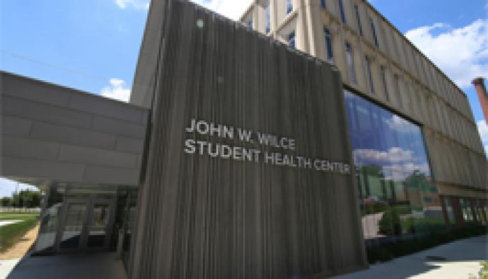 Wilce Student Health Services building
